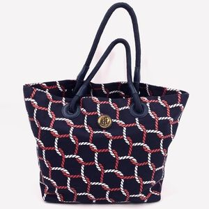 432d35d77e Tommy Hilfiger. TOMMY HILFIGER Nautical Rope Large Tote ...